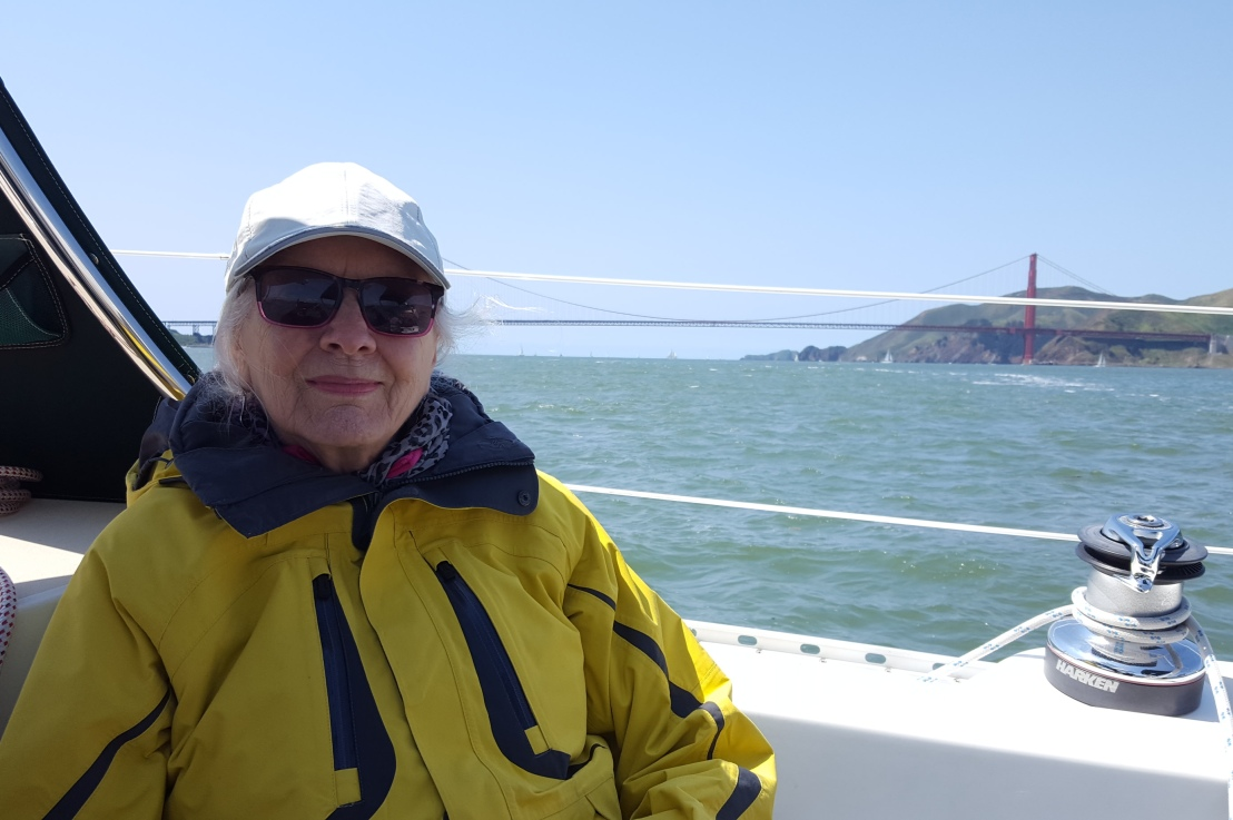 Angel Island/Alcatraz circumnavigation (with Mum).