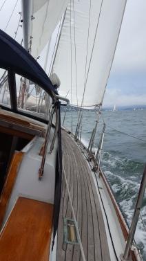 First sail!