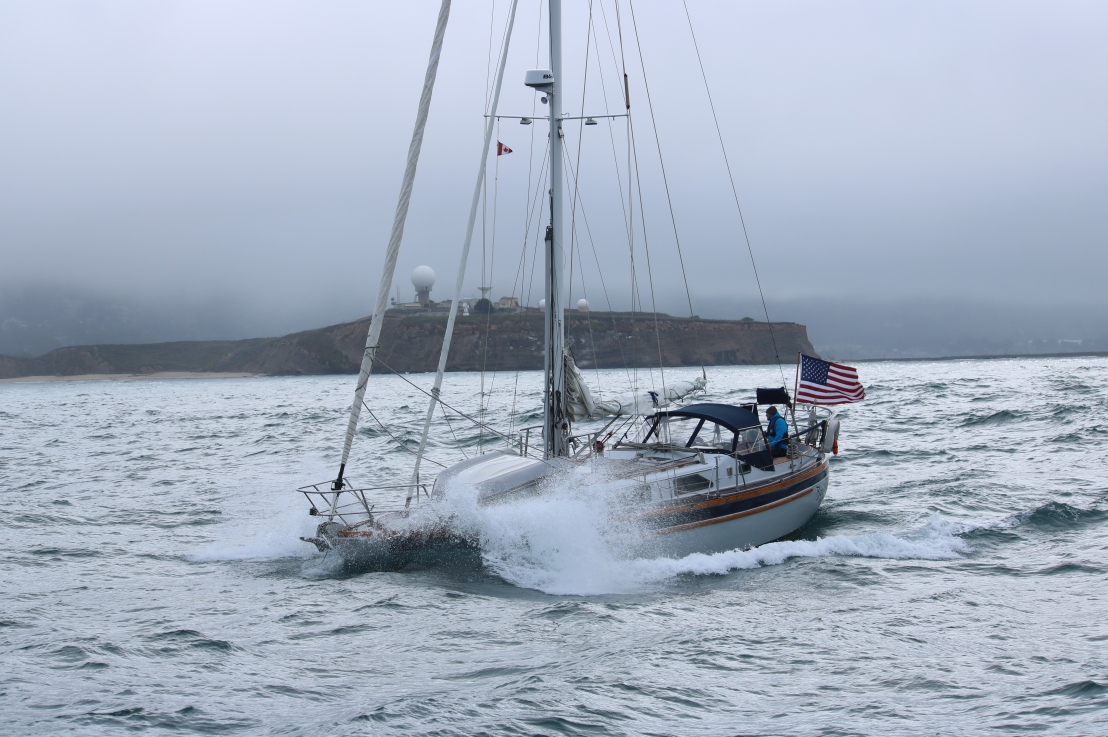 Scarlet Fire 'buddy boat' weekend to Half MoonBay