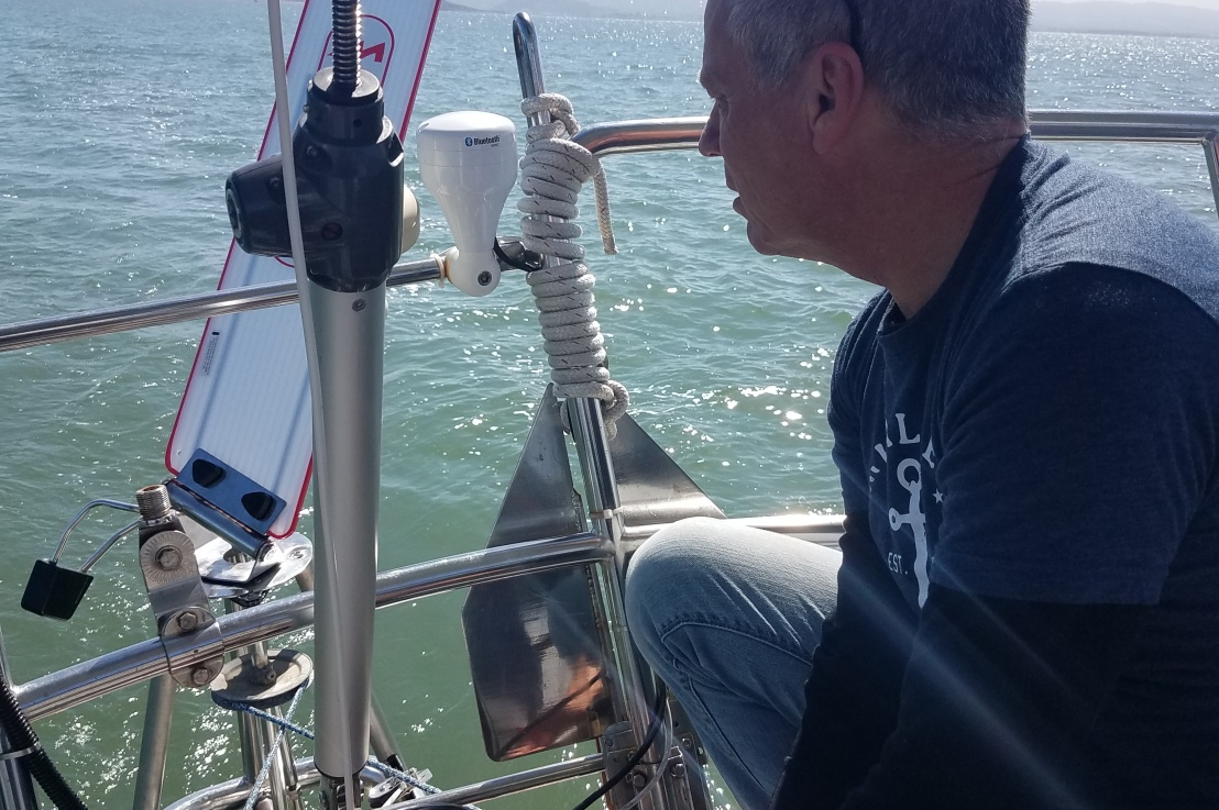 Memorial Day Dinghy Retrieval – (windvane attempt #1 and #2)